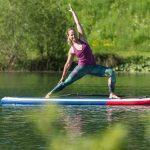 Yoga auf dem Wasser